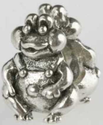 Silberkugel geschwärzt, Frosch, Charlot Borgen Design