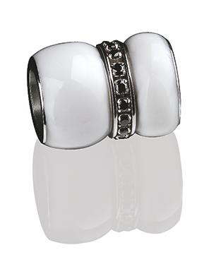 Ernstes Design Wechselhülse / Anhänger EDvita AN268.BL für Armbänder und Ketten