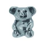 Piccolo Schmuck Koalabär Anhänger, Charm, Bead in Silber APG 034 Figuren von Piccolo das Original