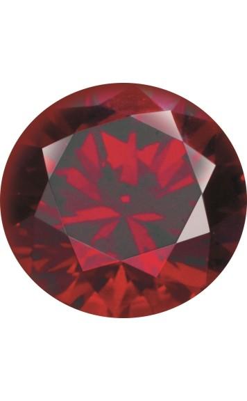 Melano Zirkonia Stein rot für Cameleon Ring