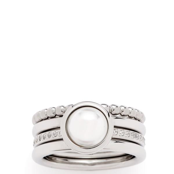 Jewels by Leonardo Ring Perla Edelstahl / Glas 0168-x