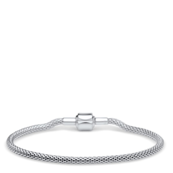 Bering Charm-Armband Edelstahl Milanaise 613-10-X0