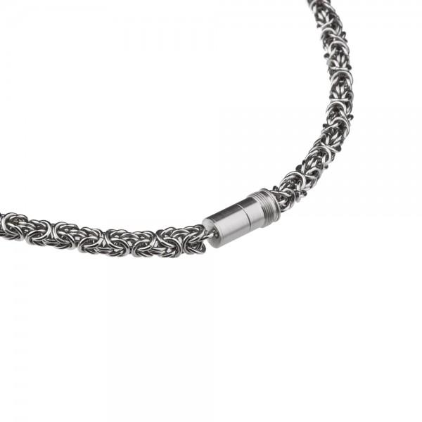 Ernstes Design EDvita Königskette K136 Edelstahl mit Magnetverschluss