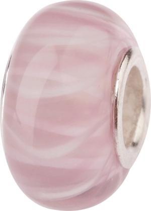 Murano Bead, Murano Glaskugel für Bettelarmband hellrosa, GPS 19 von Charlot Borgen Design