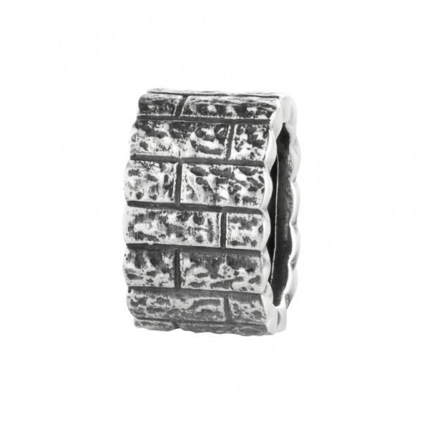 Rebeligion Anhänger Add On Mauerwerk Large / Men Black Rock 15 01082 71 001 fürs Armband