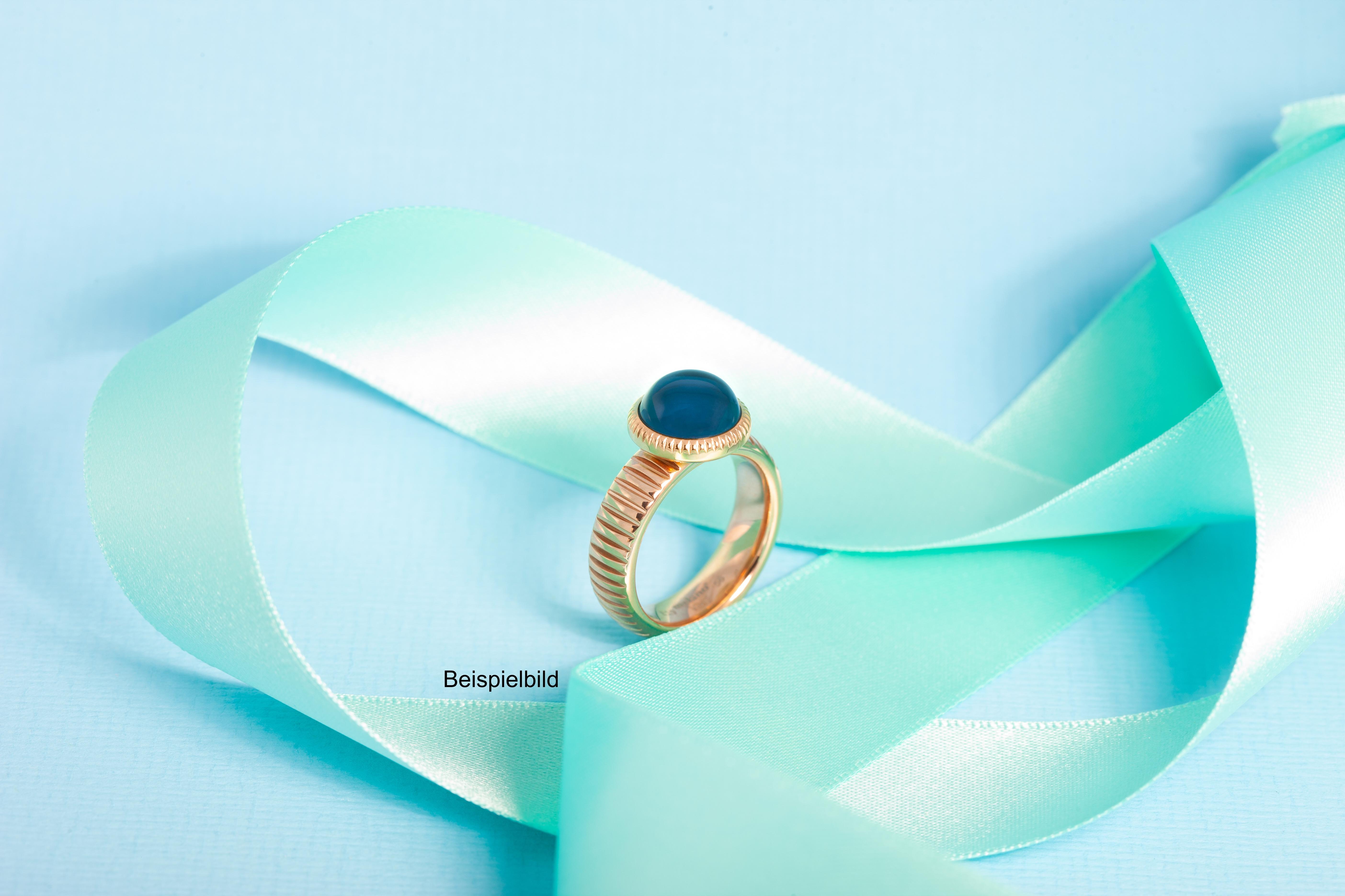 Melano Vivid Ring Striped Edelstahl VR08