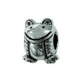 Piccolo Schmuck Frosch Silber Anhänger, Charm, Bead, APG 007 Figuren von Piccolo das Original