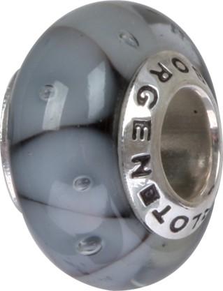 Murano Glaskugel Türkis GPS-86 / Charm / Bead / Anhänger fürs Bettelarmband