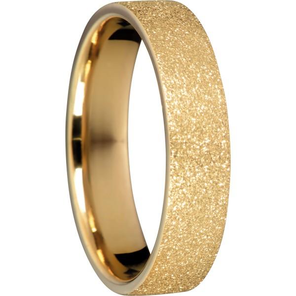 Bering 557-29-X2 Kombinationsring Innenring Breit Edelstahl goldfarben Sparkling Effekt