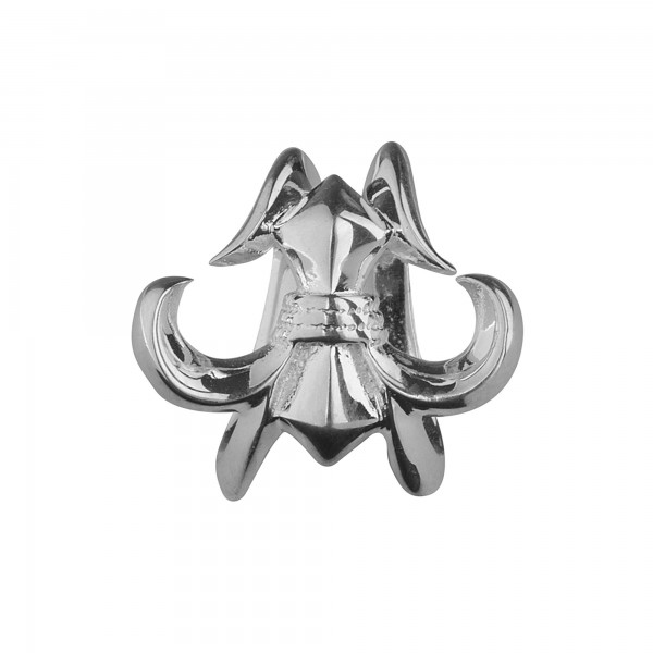 Rebeligion Anhänger mit Lilie fürs Leder Armband v Rebeligion Schmuck Medium Women 150116371001