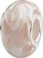 Murano Bead, Murano Glaskugel für Bettelarmband braun, GPS 21 von Charlot Borgen Design