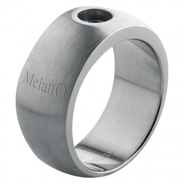Melano Ring von MelanO Magnetic Schmuck in Edelstahl matt 10mm - 12mm