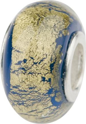 Murano Bead, Murano Glaskugel für Bettelarmband blau, GPS 14 von Charlot Borgen Design