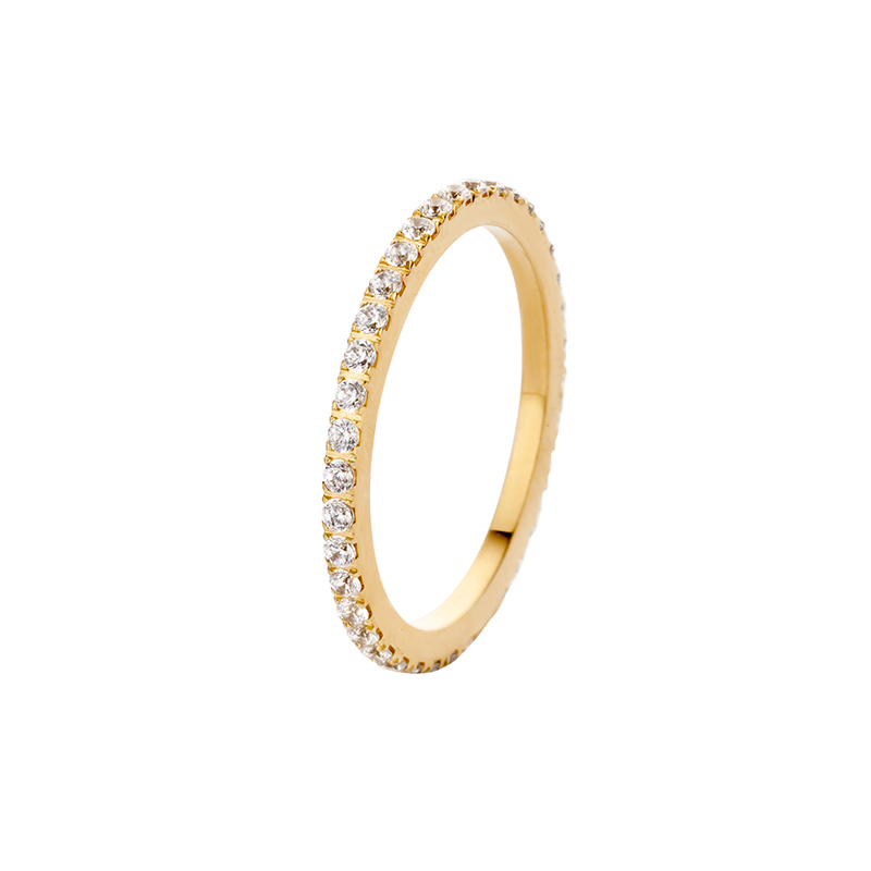 Melano Vivid Meddy Aufsatz M01SR 9014 RG Rosenquarz für Ring Vivid