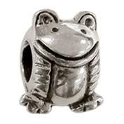 Jolie Frosch Bead, Anhänger, Charm, Silberkugel, Element in Silber ABK-049 von Jolie Collection
