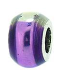 Piccolo Schmuck Anhänger, Charm, Bead, APF 057 Emaillekugel mit Silberkern von Piccolo das Original