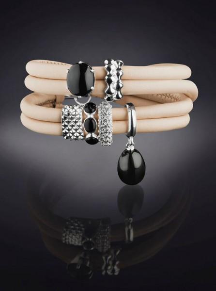 Rebeligion Armband für Frauen in Medium von Rebeligion True Silver Komplett