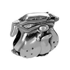 Hundekopf Anhänger in Silber für Männer Modischer Männerschmuck Für Hals & Armband