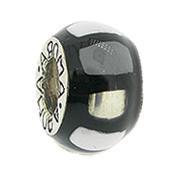 Jolie Element Silber mit Emaille Anhänger, Kugel, Charm, Bead Silber ABF 086 von Jolie Collection