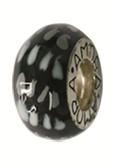 Piccolo Anhänger, Charm, Bead, Kugel APF 033 Emaillekugel mit Silberkern von Piccolo Schmuck