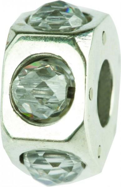 Silberbeads mit Stein, Charlot Borgen Design