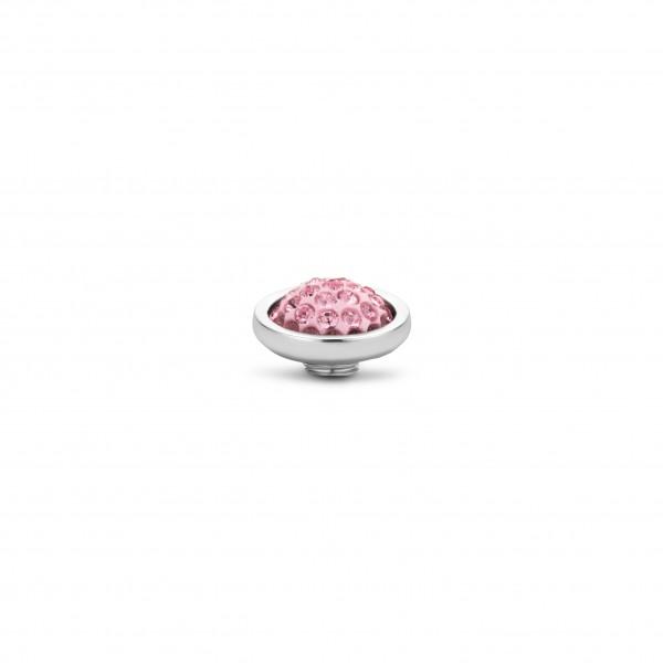 Melano Vivid VM30 Aufsatz / Fassung 10 mm aus Edelstahl mit Zirkonia Light rose