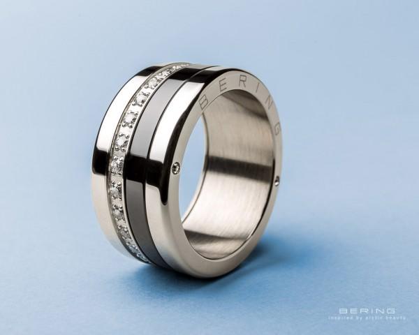 Bering Ring 520-10-X4 Kombinationsring Außenring Breit mit 2 Innenringen Edelstahl + Keramik