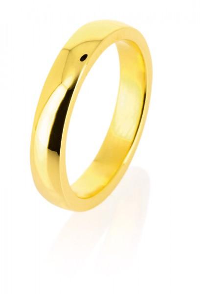 heartbreaker style & go-Steckring / Vorsteckring goldfarben poliert LD MR 16 G