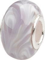 Murano Bead, Murano Glaskugel für Bettelarmband violett, GPS 21 von Charlot Borgen Design