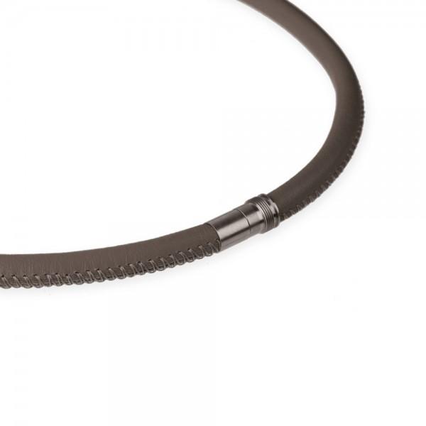 Ernstes Design EDvita Kette K135.TA Leder mit Magnetverschluss Ø ca. 6 mm
