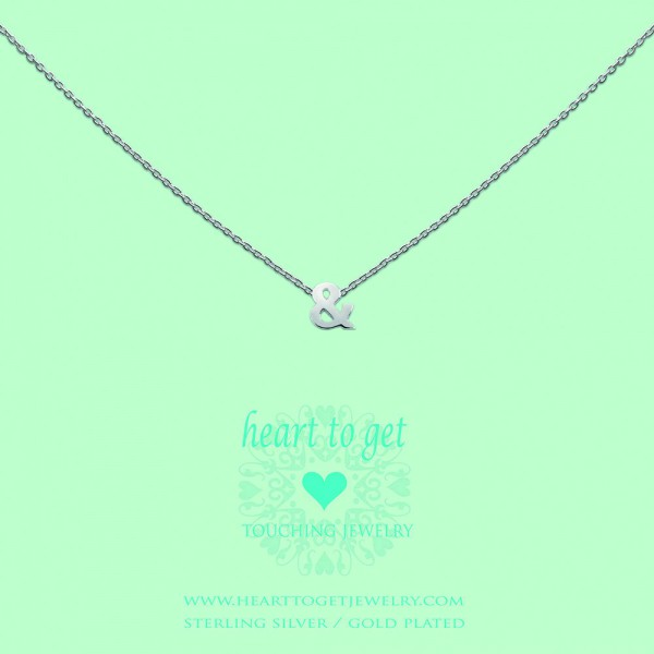 """Heart to get Anhänger Symbol """"&"""" Silber S171AND13S"""