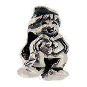 Jolie Junge als Bead, Anhänger, Charm, Silberkugel, Element in Silber ABK 054 v Jolie Collection