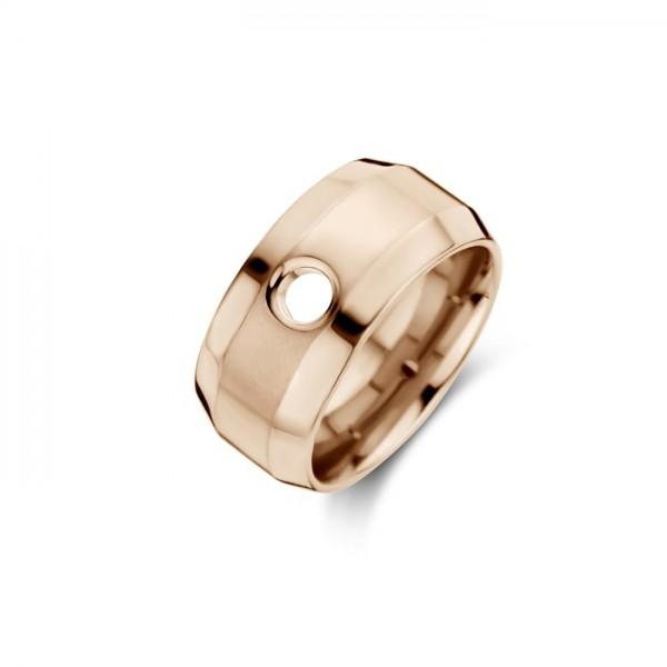 Melano Vivid Ring Velma Edelstahl rosé beschichtet VR11