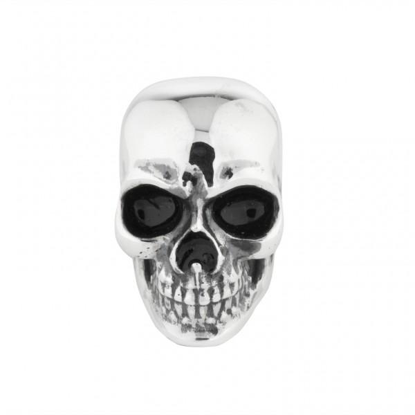 Totenkopf Anhänger Black Rock Large / Men 15 00582 71 001 fürs Armband von Rebeligion True Silver