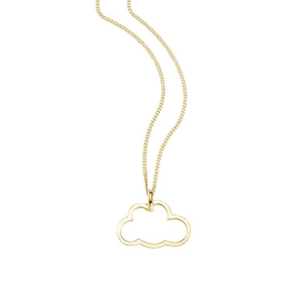 """So Cosi """"Sky is the limit"""" Halskette, Collier, Anhänger inkl. Kette Silber goldfarben 16-019"""