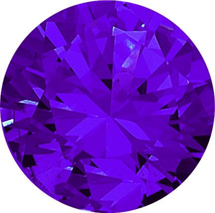 Melano Zirkonia Stein violett für Cameleon Ring