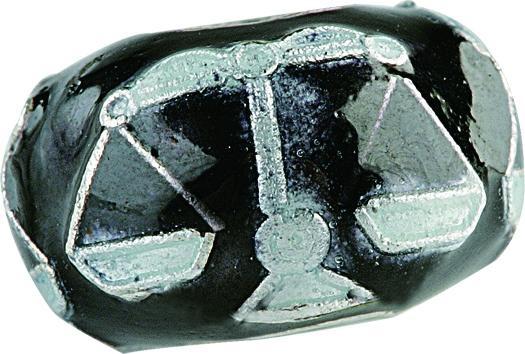 Emaillekugel mit Silberkern, Beads, Charms, Charlot Borgen Design