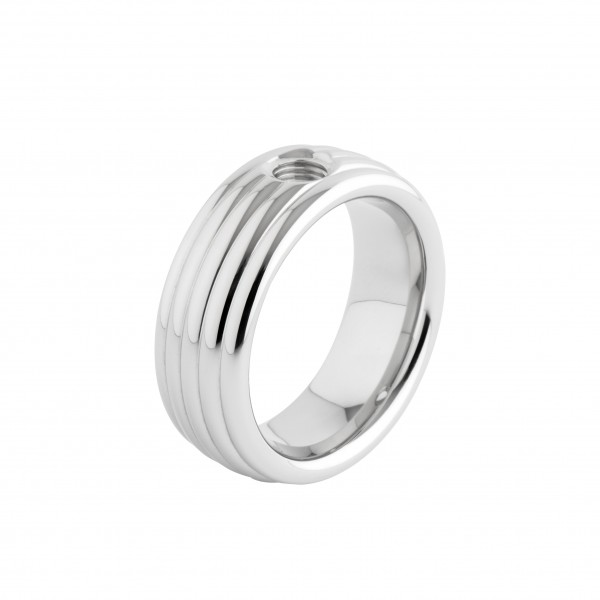 Melano Vivid Ring Vera Edelstahl M01R 9040 Breite 8 mm