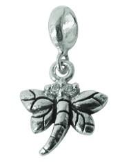 Piccolo Silber Anhänger, Libelle, Charms, Bead Silber APH 014 von Piccolo das Original