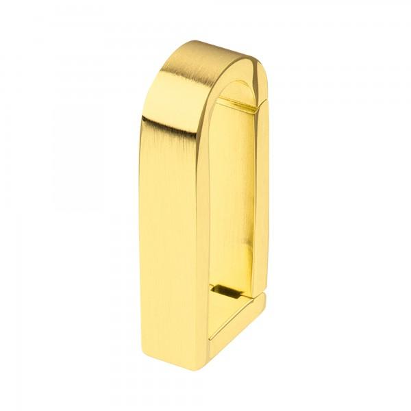 Ernstes Design Anhängerverschluss Edelstahl goldfarben Groß ANV05