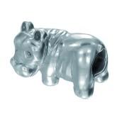 Piccolo Schmuck nilpferd Anhänger, Charm in Silber APG 041 Figuren von Piccolo das Original
