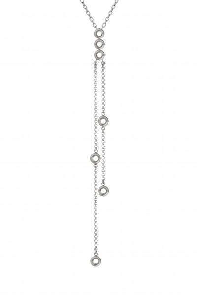 Melano Vivid M01N 9002 Halskette Valentina aus Edelstahl für 7 Aufsätze