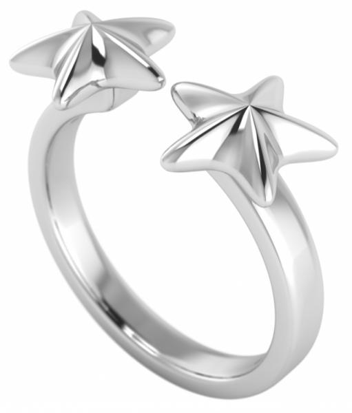 annika plum offener Ring open rings Stern offen AP Sterlingsilber 1001