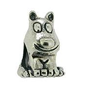 Jolie Hund Silberkugel, Element, Figur, Anhänger, Charm, Bead ABK-012 von Jolie Collection Schmuck