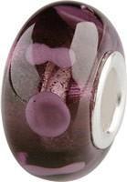 Murano Bead, Murano Glaskugel für Bettelarmband violett, GPS 23 von Charlot Borgen Design