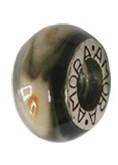 Piccolo Schmuck Anhänger, Charm, Bead, Kugel APF 048 Emaillekugel mit Silberkern von Piccolo das Or