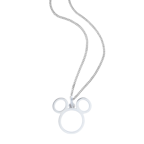 "So Cosi Disney ""Team Mickey"" Halskette, Collier, Silber NSX-WDM003"