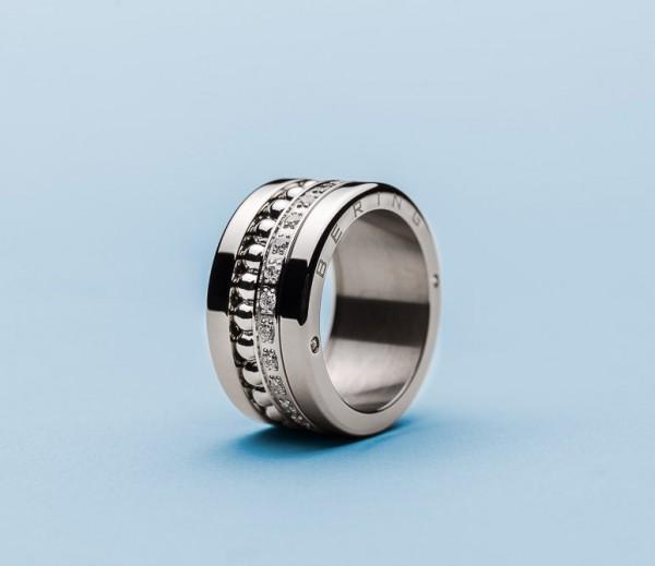 Bering Ring 520-10-X4 Kombinationsring Außenring Breit mit 2 Innenringen Edelstahl