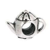 Piccolo Schmuck Teekanne Anhänger, Charm, Bead in Silber APG 444 Figuren von Piccolo das Original