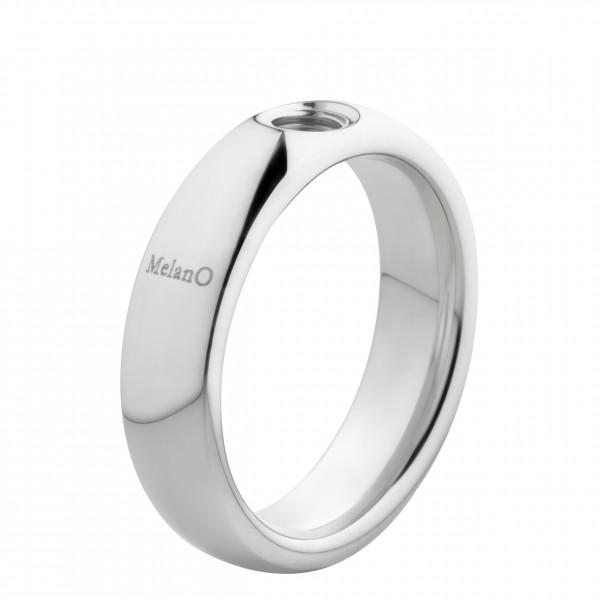 Melano Vivid Ring M01R 9010 aus Edelstahl 6mm für Vivid - Aufsätze